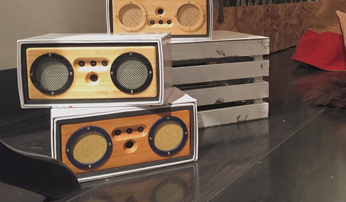 bongo speaker lautsprecher im bambus geh use. Black Bedroom Furniture Sets. Home Design Ideas