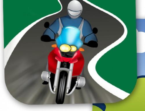 Fünf Biker-Apps fürs Handgepäck