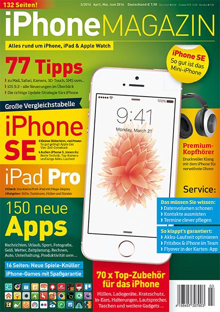 iPhoneMAGAZIN 03/2016
